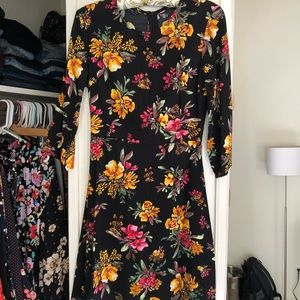 New Zara Floral dress